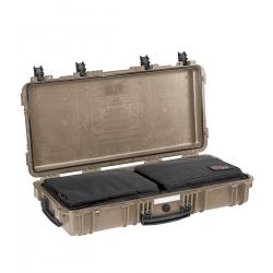 7814 DGB EXPLORER CASES SABBIA CON BORSA GBAG 76 Valigia a tenuta stagna in polipropilene copolimero
