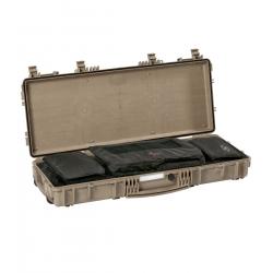 9413 DGB EXPLORER CASES SABBIA CON BORSA GBAG 94 Valigia a tenuta stagna in polipropilene copolimero