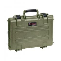 4209 GGB EXPLORER CASES VERDE MILITARE CON BORSA GBAG 42 Valigia a tenuta stagna in polipropilene copolimero