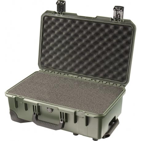 IM2500-31001 PELI iM2500 Storm Valigia Portatile VERDE MILITARE CON SPUGNA