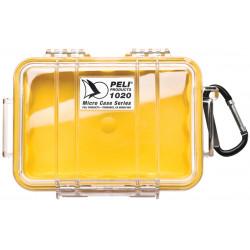 1020-027-100E PELI 1020 MICRO VALIGIA GIALLO/CLEAR