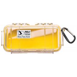 1030-027-100E PELI 1030 MICRO VALIGIA GIALLO/CLEAR