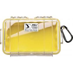 1050-027-100E PELI 1050 MICRO VALIGIA GIALLO/CLEAR