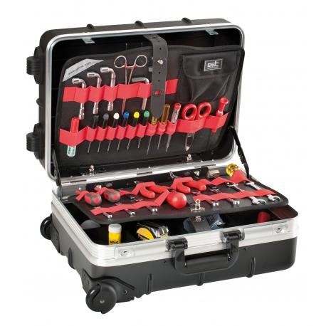 REVO WHEELS PEL GT LINE Valigia trolley porta utensili in ABS termoformato ad alto spessore