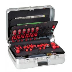 R7/TOP GT LINE Valigia porta utensili in alluminio anodizzato