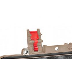 KIN.1211 EXPLORER CASES Serratura sabbia con pulsante di sicurezza rosso per 5218 - 5221