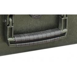 KIN.1206 EXPLORER CASES Maniglia verde militare rivestita in gomma (mod.5218-5221)