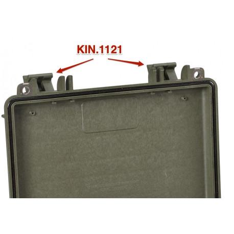 KIN.1121 EXPLORER CASES VERDE MILITARE Serratura per modello 3005