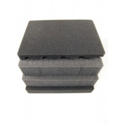 SPUMAX400 MAX CASES Plastica Panaro Kit spugne interne standard per art. MAX400 grigio