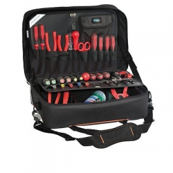 BAG AND CASE PTS WORK LINE Borsa con 2 pannelli con tasche