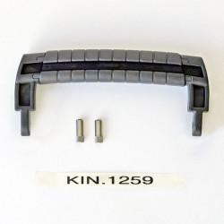 KIN.1259 EXPLORER CASES Maniglia nera gommata per GT 4209 - GT 4216