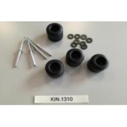 KIN.1310 GT LINE Kit piedini V-ROCK TURTLE PTS, PEL, PSS