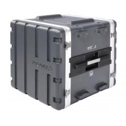 FOABSR10U PROEL Custodia a rack 19' - 10 unità - realizzata in 'Polietilene FORCE'. Profondità interna utile: 420 mm