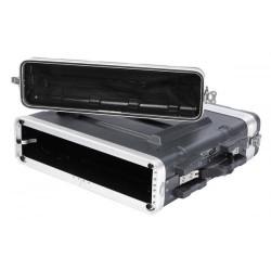 FOABSR2U PROEL Custodia a rack 19' - 2 unità - realizzata in 'Polietilene FORCE'. Profondità interna utile: 420 mm