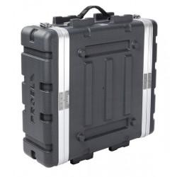 FOABSR3U PROEL Custodia a rack 19' - 3 unità - realizzata in 'Polietilene FORCE'. Profondità interna utile: 420 mm