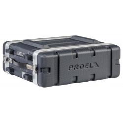 FOABSR3UM PROEL Custodia a rack 19' - 3 unità - realizzata in 'Polietilene FORCE'. Profondità interna utile: 307 mm