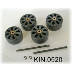 KIN.0520 EXPLORER CASES Ruote per modello 10840