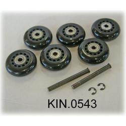 KIN.0543 EXPLORER CASES Ruote per modello 13527