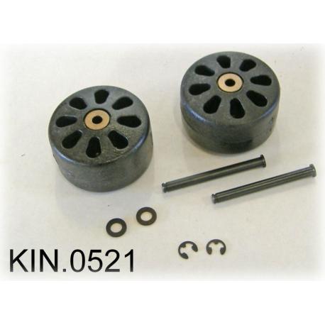 KIN.0521 EXPLORER CASES Ruote per modello 7641