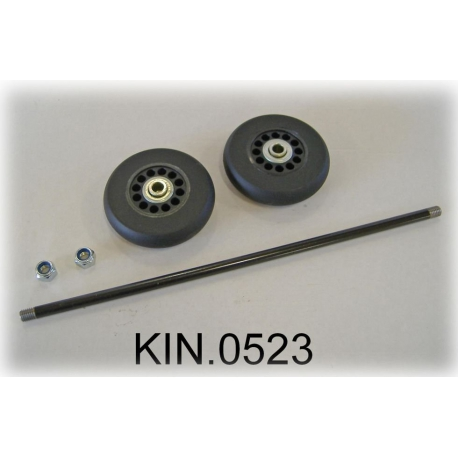 KIN.0523 EXPLORER CASES Ruote per modello 5122