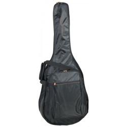 BAG110PN PROEL Borsa per chitarra Acustica / Folk in nylon 420D antistrappo. Disponibile nel colore nero.
