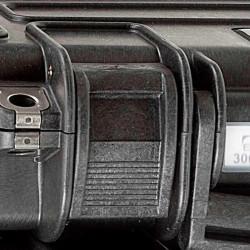 KIN.1116 EXPLORER CASES NERO Serratura per modello 3005