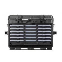 5140X.B.5AL EXPLORER CASES NERA CON CASSETTI VUOTI 5 x AIBOX3.E + 1 x AIBOX6.E, CON RFID/NFC