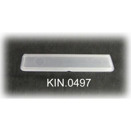 KIN.0497 EXPLORER CASES Targhetta porta nome per modelli 1908, 1913, 2209 e 2214