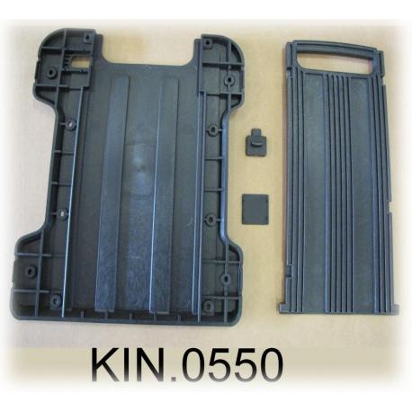 KIN.0550 EXPLORER CASES Maniglia estraibile + ruote per modelli 5822-5823-5833 e per Waterproof GT 58-23