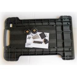 KIN.0837 EXPLORER CASES Maniglia estraibile + ruote per modelli 7630-7641