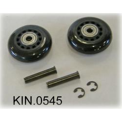 KIN.0545 EXPLORER CASES Ruote per modelli 9413, 11413 e 13513