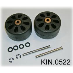KIN.0522 EXPLORER CASES Ruote per modelli 5823, 5833, 5326 e 7630 e per Waterproof GT 58-23