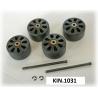 KIN.1031 EXPLORER CASES Ruote per modello 5140