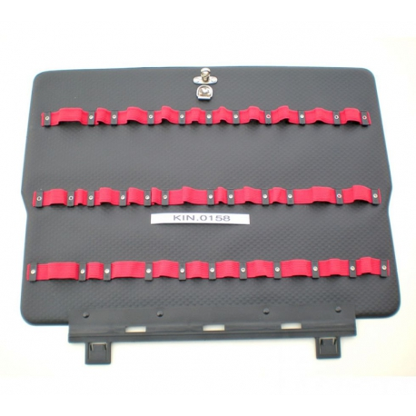 KIN.0158 GT LINE Pannello superiore PEL con elastici (sistema di fissaggio con Click&Go) per Atomik 215
