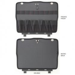 KIN.0622 GT LINE Pannello inferiore PTS con tasche (sistema di fissaggio con Click&Go) per Atomik TWIN