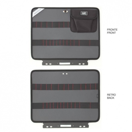 KIN.0409 GT LINE Pannello superiore PEL con elastici