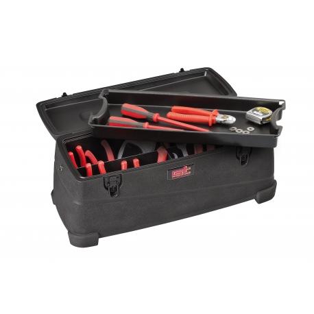 FORCE BOX 18 GT LINE Cassetta porta attrezzi con vassoio estraibile + divisori