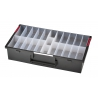 AIDRAW 9.B1 EXPLORER CASES Cassetto 95 mm con vaschette portaminuterie removibili